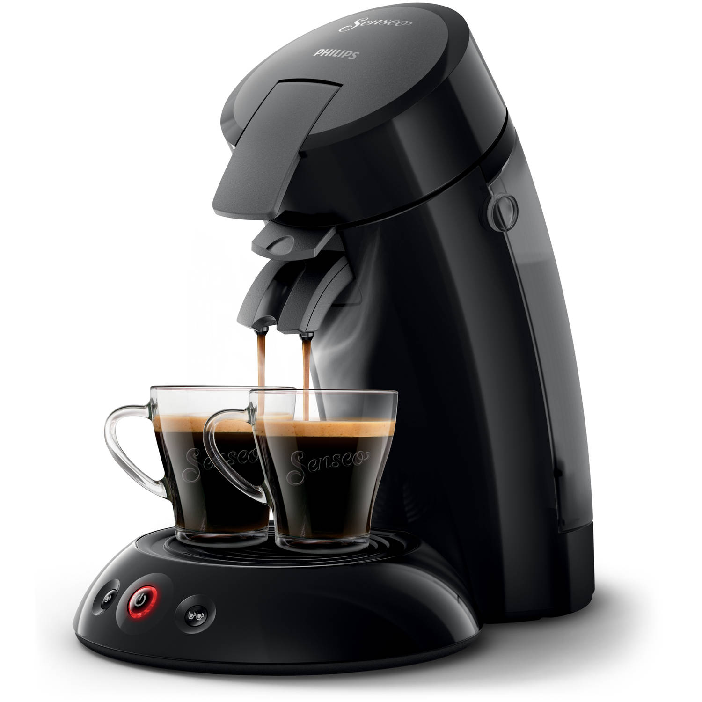 Dagaanbieding - Philips SENSEO Original koffiepadmachine HD6553/67 - zwart dagelijkse koopjes