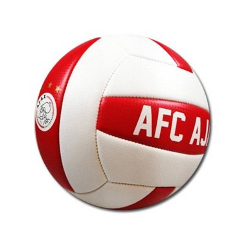 Afbeelding van Ajax beachbal wit/rood