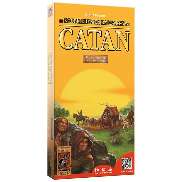Kolonisten van Catan: uitbreiding kooplieden en barbaren voor 5-6 spelers
