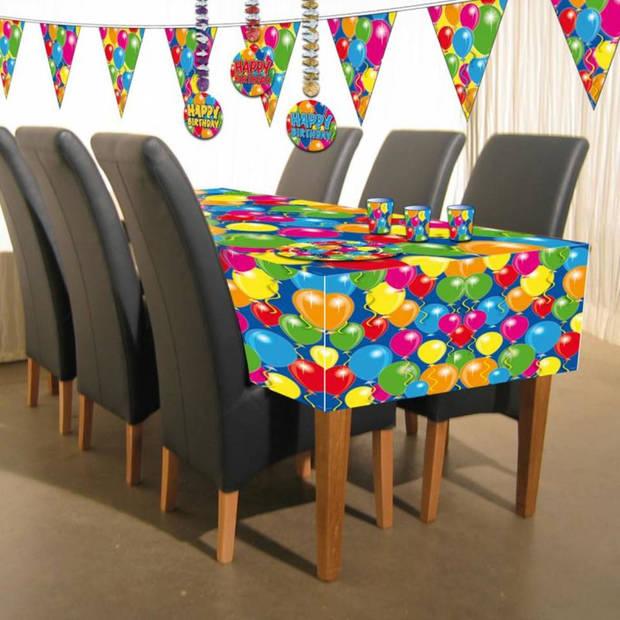 Tafelkleed ballonnen - 130 x 180 cm
