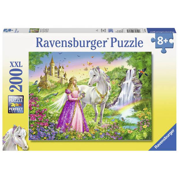 Ravensburger puzzel XXL prinses met paard - 200 stukjes