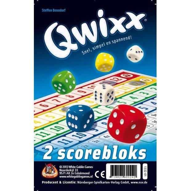 White Goblin Games Qwixx scorebloks