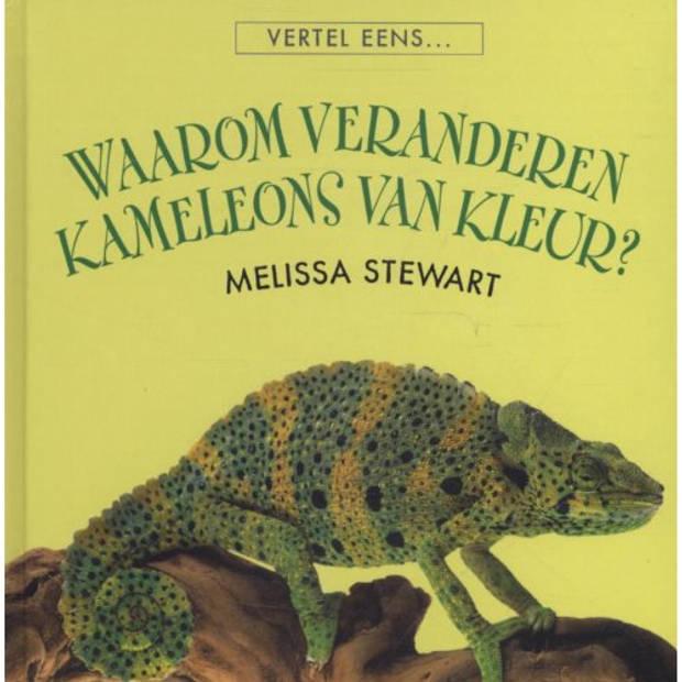 Waarom Veranderen Kameleons Van Kleur? - Vertel