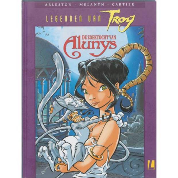 De zoektocht van Alunys - Legenden van Troy
