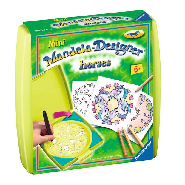 Paarden Mini Mandala Designer