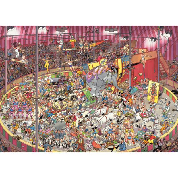 Jan van Haasteren Puzzel het circus - 1000 stukjes