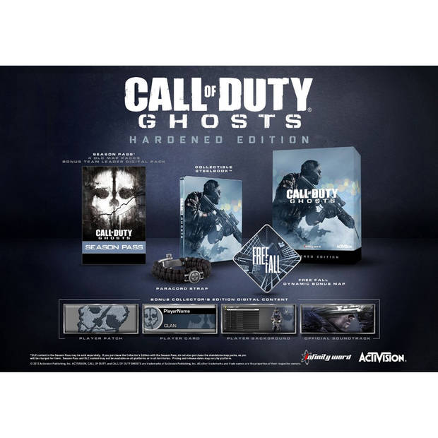 PS3 Call of Duty: Ghosts Hardened Edition