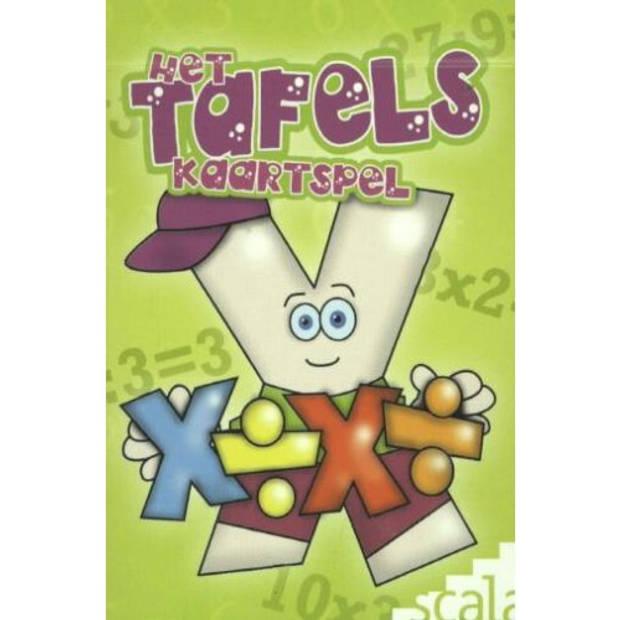 Het Tafelskaartspel - De Leukste Rekenspelletjes
