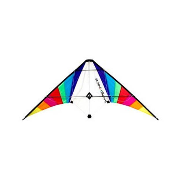 Rhombus stuntvlieger regenboog