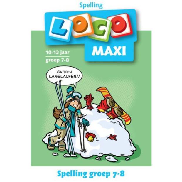 Loco Maxi / Spelling Groep 7-8 10-12 Jaar - Maxi