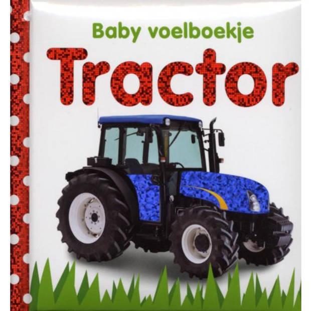 Tractor - Baby Voelboekje