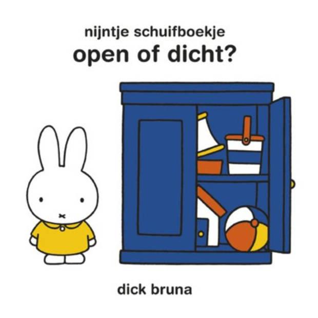 Nijntje Schuifboekje / Open Of Dicht