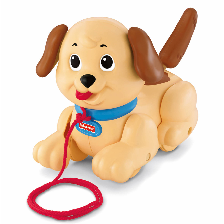 Fisher-Price Little Snoopy trekfiguur