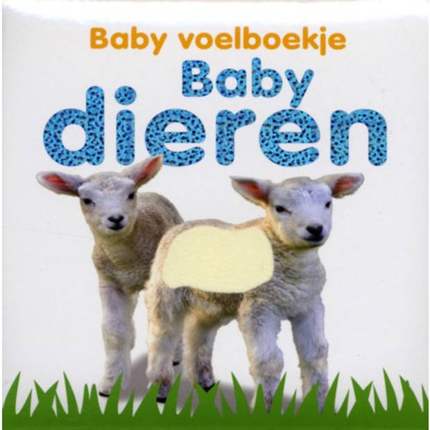 Babydieren - Baby Voelboekje
