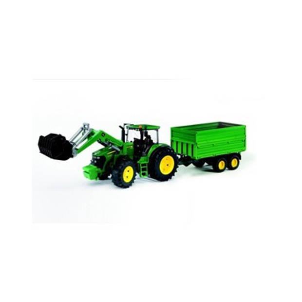 Tractor John Deere 7930 met frontlader