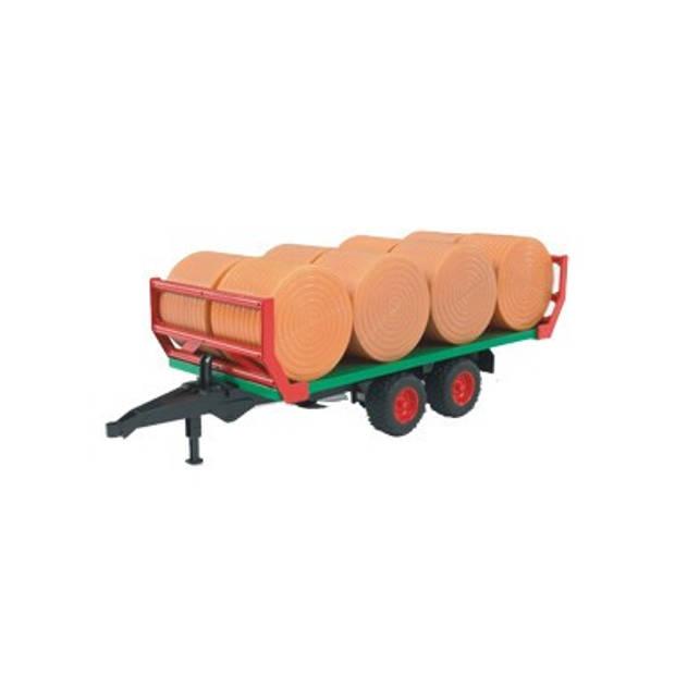 Stro rollenwagen + Strobalen