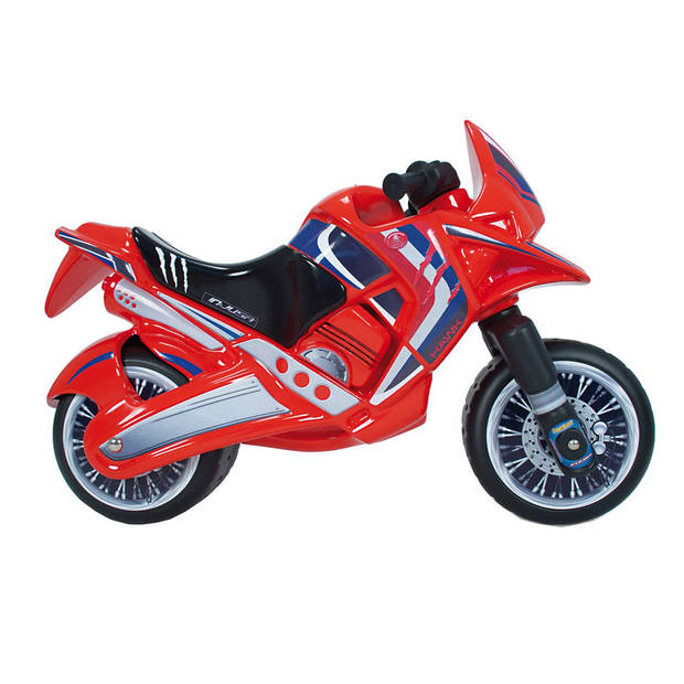 Injusa Hawk loopmotor - rood