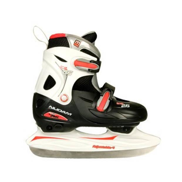 Verstelbare ijshockeyschaatsen zwart 34-37