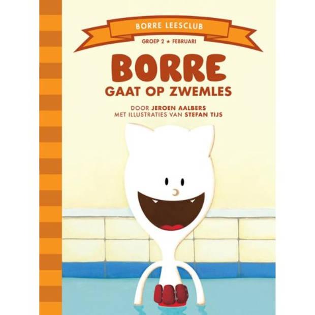 Borre Gaat Op Zwemles - De Gestreepte Boekjes