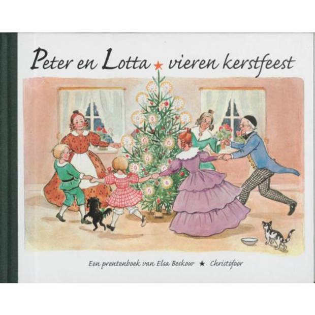 Peter en Lotta vieren kerstfeest