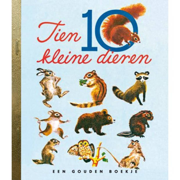 Tien Kleine Dieren - Gouden Boekjes