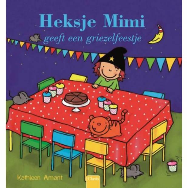 Heksje Mimi Geeft Een Griezelfeestje