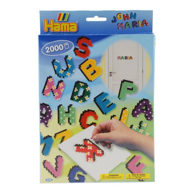 Strijkkralen letters