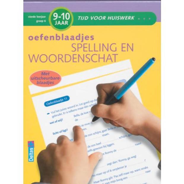 Oefenblaadjes Spelling En Woordenschat / 9-10 Jaar