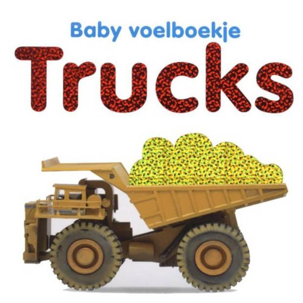 Trucks - Baby Voelboekje