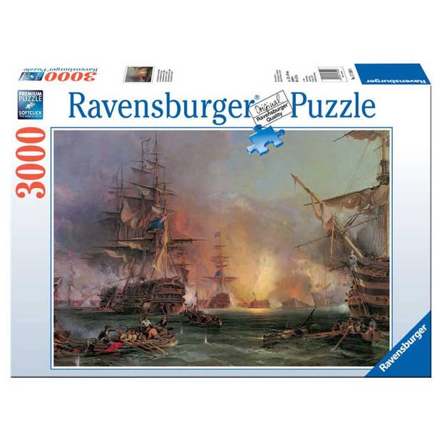 Ravensburger puzzel bombardement van Algiers - 3000 stukjes