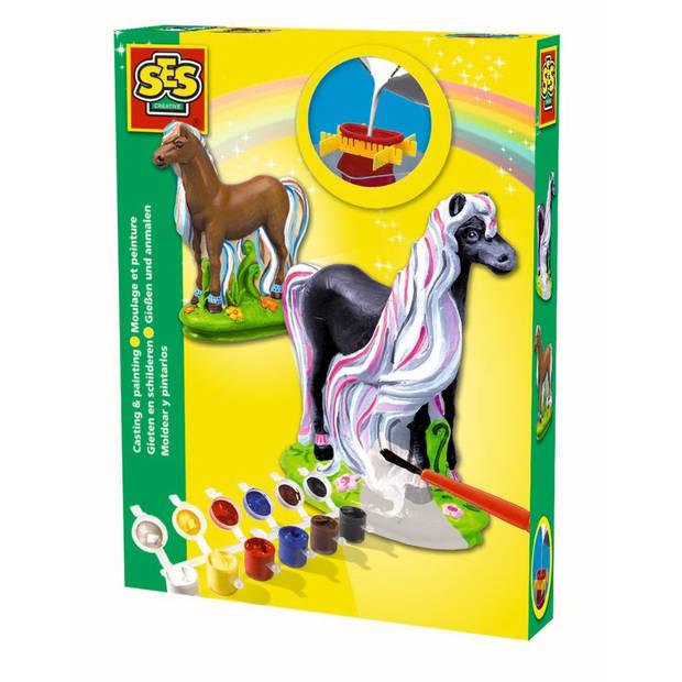 SES Figuren gieten en schilderen Paard Fancy