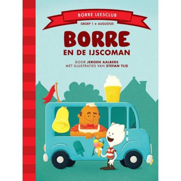 Borre En De Ijscoman - De Gestreepte Boekjes