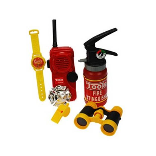 Brandweer accessoireset