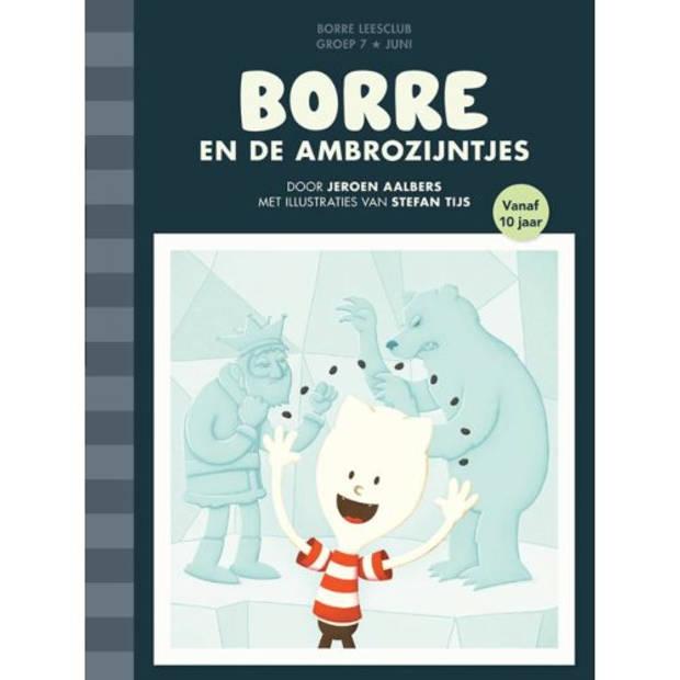 Borre En De Ambrozijntjes - De Gestreepte Boekjes