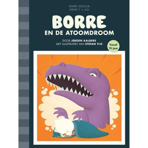 Borre En De Atoomdroom - De Gestreepte Boekjes
