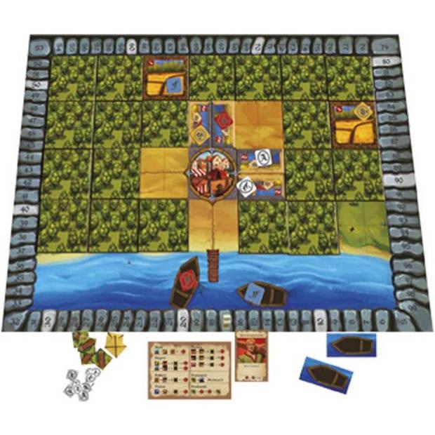 De poorters van Nieuwstad bordspel