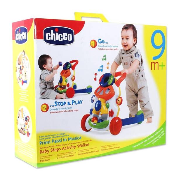 Chicco loopwagen Babywalker junior wit 49 x 40 x 46 cm