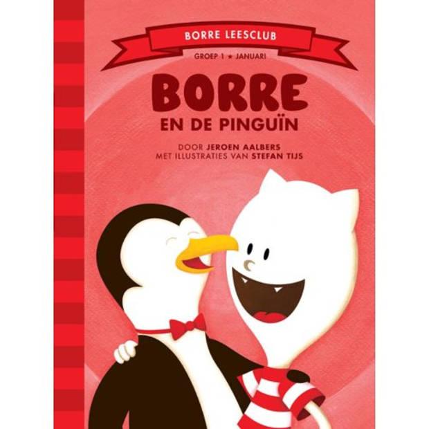 Borre En De Pinguin - De Gestreepte Boekjes