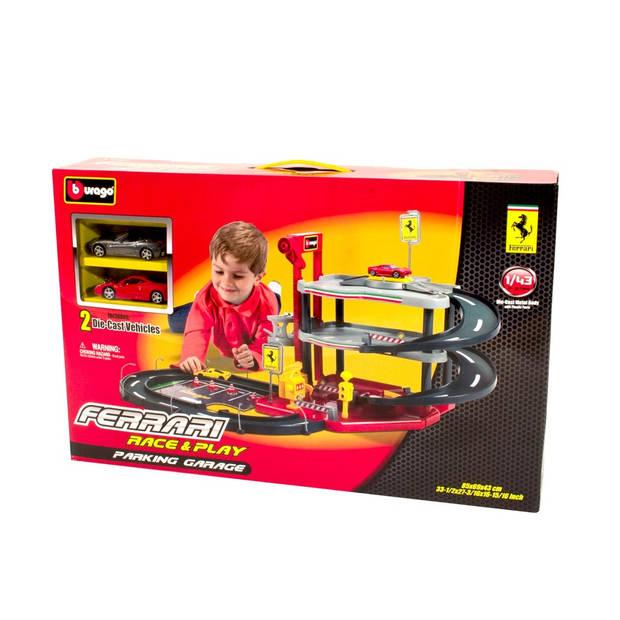 Bburago Ferrari garage 1:43