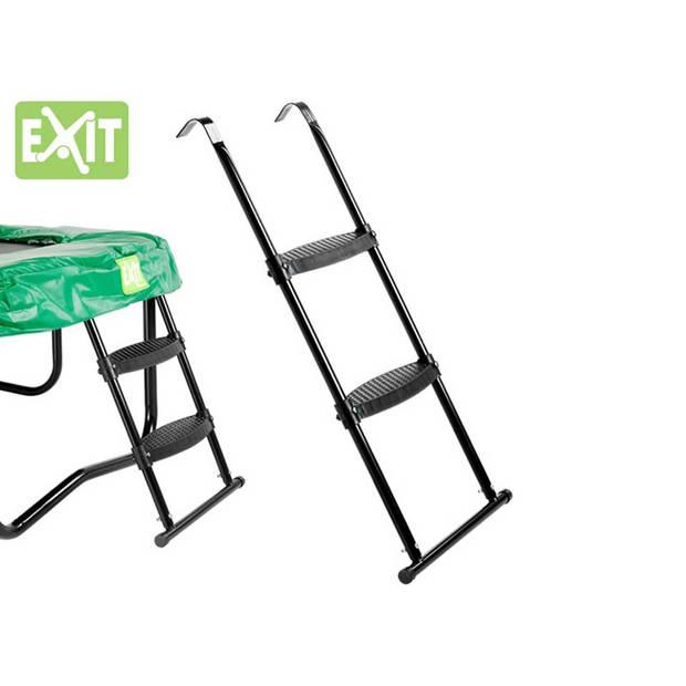 EXIT trampoline ladder L - zwart