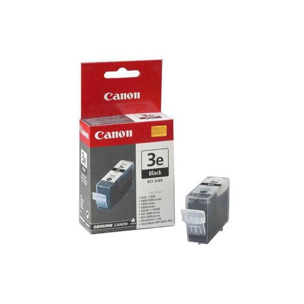 Canon BCI-3eBK zwart Cartridge
