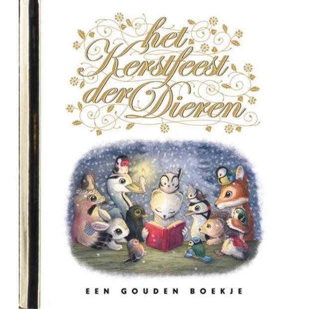 Kerstfeest Der Dieren - Gouden Boekjes
