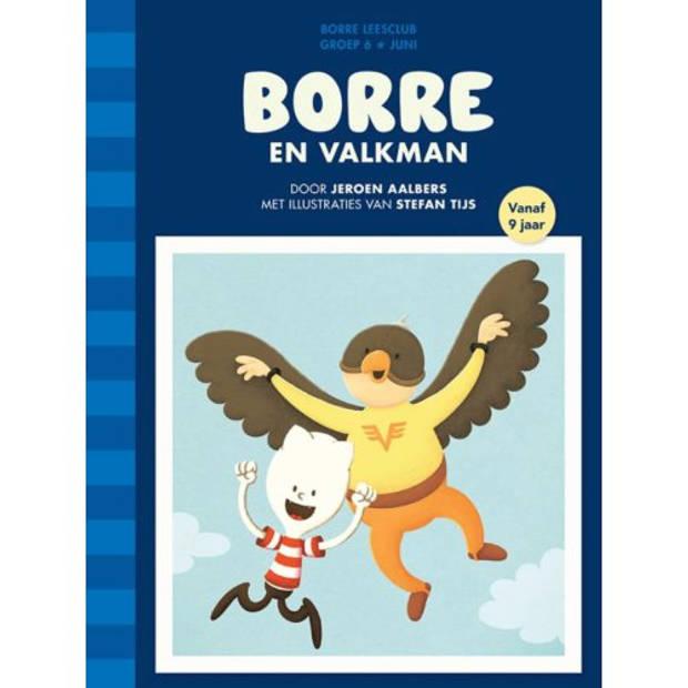 Borre En Valkman - De Gestreepte Boekjes
