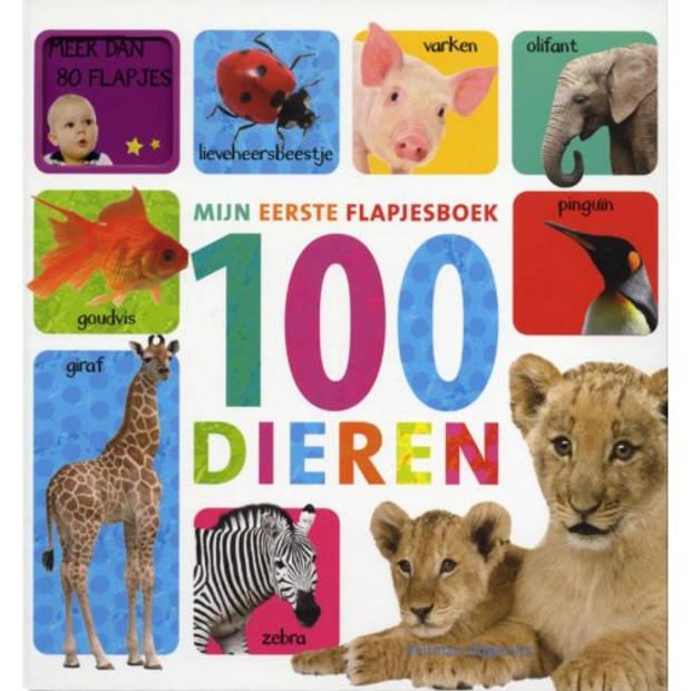 Mijn Eerste Flapjesboek / 100 Dieren
