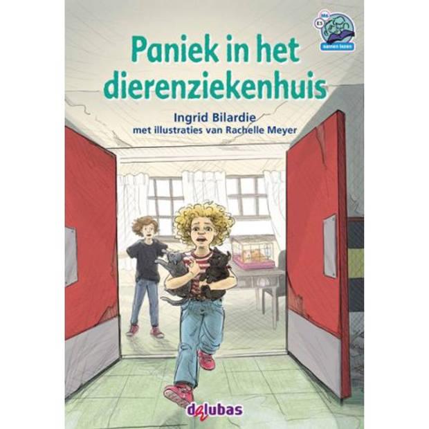 Paniek In Het Dierenziekenhuis - Samenleesboeken