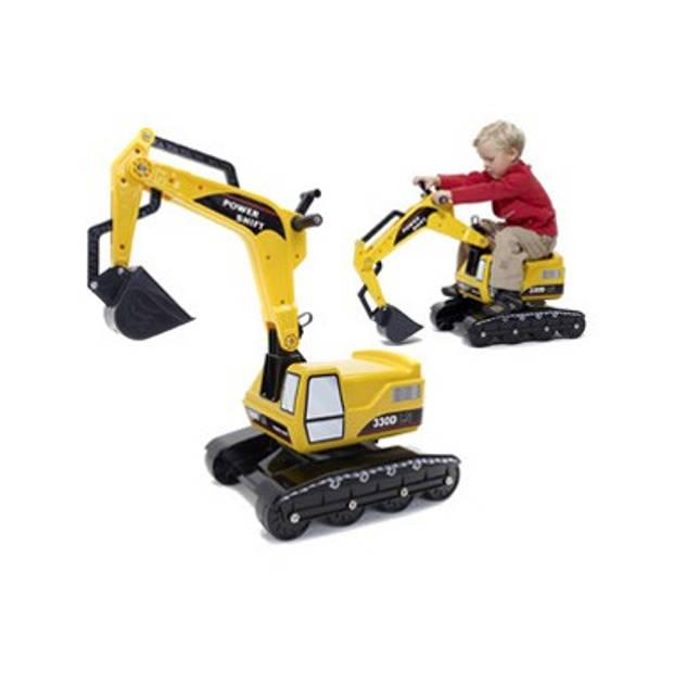 Falk Excavator graafmachine - geel