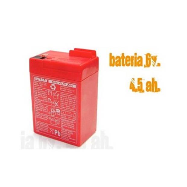 Feber batterij 6 volt 4.5 Ah