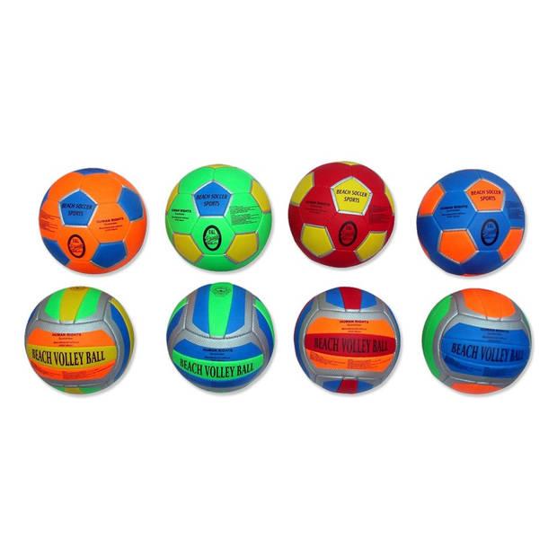 Beachvolleybal / beachvoetbal