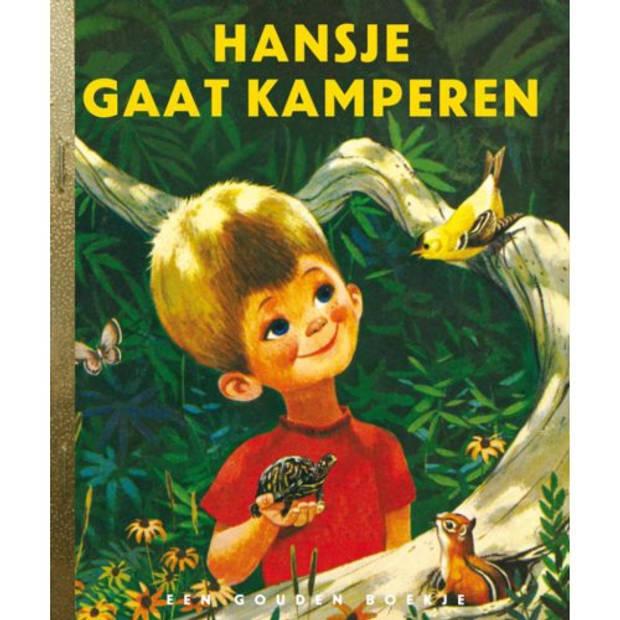 Hansje Gaat Kamperen - Gouden Boekjes