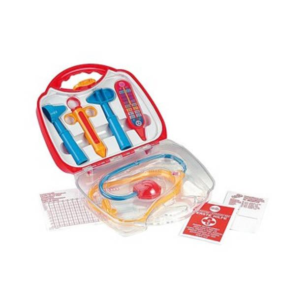 Dokterskoffertje gevuld - transparant